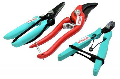 Visko 512 3-Piece Garden Tool Kit (Multicolor)