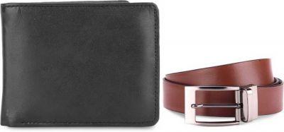 Izod Belt & Wallet Men  Combo