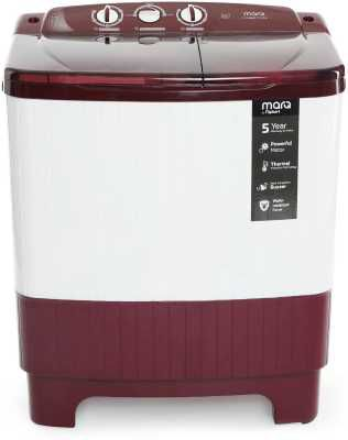 MarQ by Flipkart 6.2 kg Semi Automatic Top Load Washing Machine Maroon