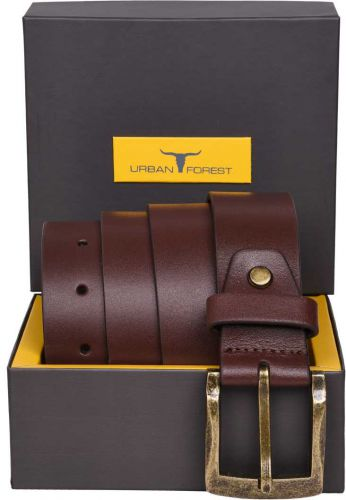 Men's Branded Genuine Leather Belts @Min.70% off
