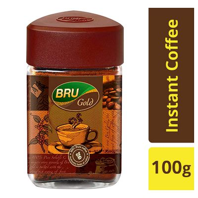 Bru Gold Instant Coffee, 100g: Amazon.in: Grocery & Gourmet Foods