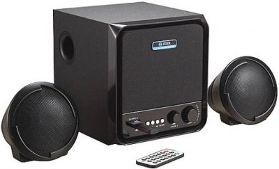 Zoook 2.1 Speakers ZM-SP3300 (FM/SD/USB) 10 W Portable Laptop/Desktop Speaker (2.1 Channel)