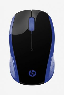 HP 200 Wireless Mouse (Black & Blue)