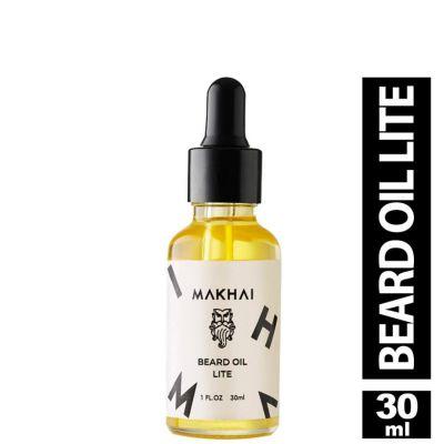 Makhai Beard Oil Lite for Men - For Soft Shiny Beard
