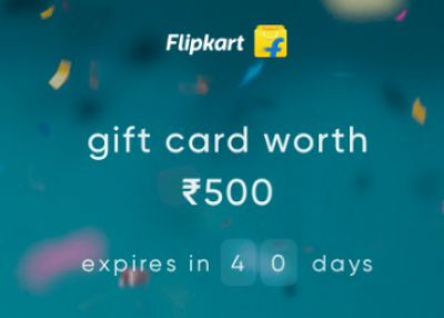 Cred: Free Flipkart GV of Rs.500: refer 2 Person