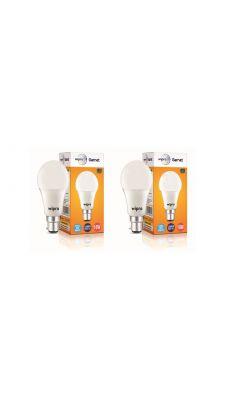 Wipro Garnet 10W LED Bulb 6500K (Cool Day Light) - Pack of 2