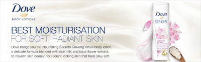 Buy Dove Glowing Ritual Body Lotion, 250ml