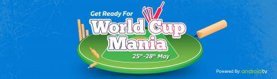 Tv World Cup Cricket Mania Store Online - Buy Tv World Cup Cricket Mania Online at Best Price in India   Flipkart.com