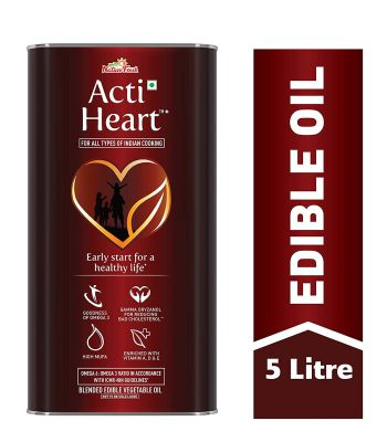 Nature Fresh ActiHeart Edible Oil 5Lt Tin