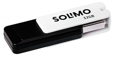 Amazon Brand - Solimo BlitzTransfer 32GB USB 2.0 Pendrive