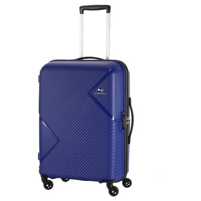 Kamiliant by American Tourister Kam Zakk Polypropylene 68 mm Blue Hardsided Check-in Luggage