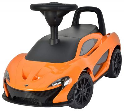 Toy House Officially Licensed McLaren P1 Push Car, Orange