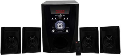 KRISONS (POLO) 4.1 BLUETOOTH MULTIMEDIA SPEAKER FOR HOME/ THEATRE USE 4.1 Home Cinema