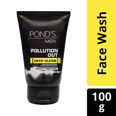 Pond Men Pollution Out Face Wash, 100g