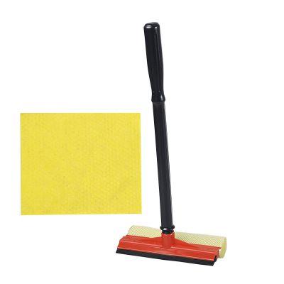 Gala Window Washer and Sponge Wipe Combo Set (Blue/Black and Yellow)