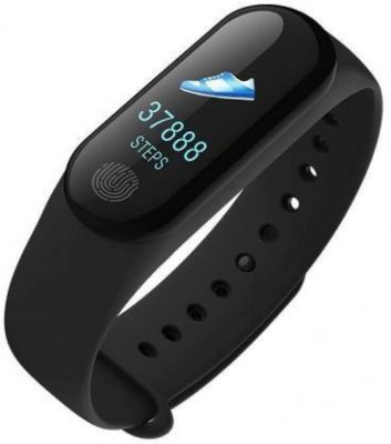 RR M3 BLACK 010 Fitness Smart Band Price in India -