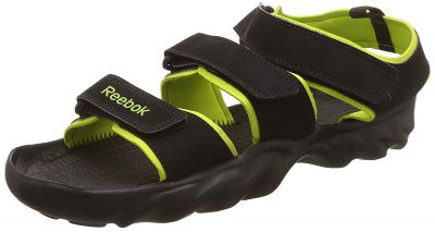 Reebok Mens Ultra Chrome Black/Green Water Shoes-8 UK/India (42 EU)(9 US) (AR3821-BLACK/GREEN-8)
