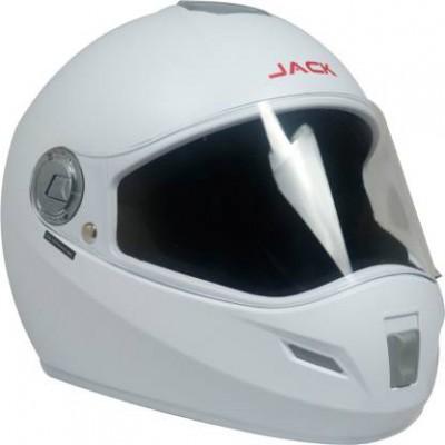 Steelbird SBH-2 Jack Dashing Full Face Helmet in Black Dashing with Plain Visor Motorbike Helmet  (Black Dashing with Pl