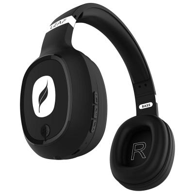 Leaf Bass Wireless Headphones with Mic and 10 Hour Battery Life