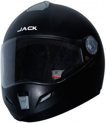 Steelbird SBH-2 Jack Dashing Full Face Helmet in Black Dashing with Plain Visor Motorbike Helmet