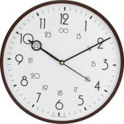 Precisio Analog 32 cm X 32 cm Wall Clock