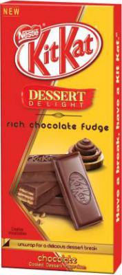 Nestle Kitkat Dessert Delight Rich Chocolate Fudge Bars