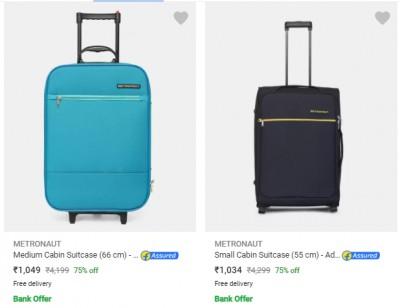Metronaut Suitcases