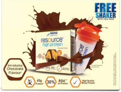 Nestle Resource Whey Protein  (400 g, Chocolate)