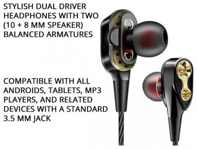 1 PLUS Dual23 In-ear Wired Headphone