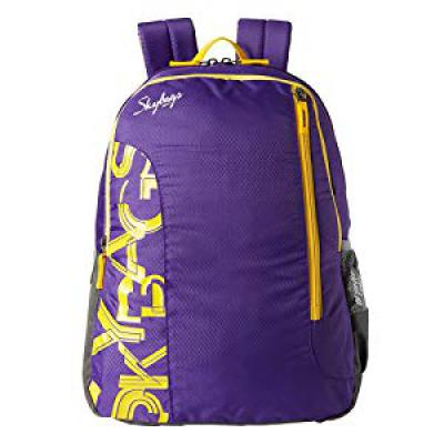 Skybags Purple Casual Backpack (BPBRA7EPPL)