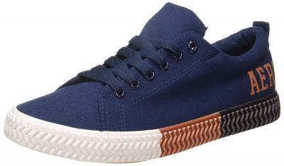 Aeropostale Mens Bernard Blue Sneakers