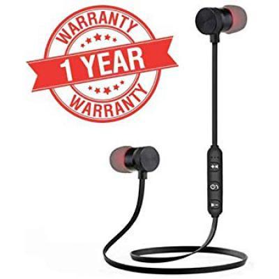 SNEHI ANEW Wireless Sports Bluetooth Magnet Earphone