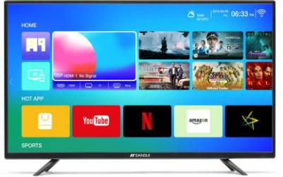 Sansui Pro View 102cm (40 inch) Full HD LED Smart TV 2019 Edition  (40VAOFHDS)