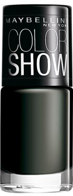 Maybelline Color Show Nail Enamel, Blackout
