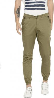 HRX by Hrithik Roshan Regular Fit Men Green Trousers