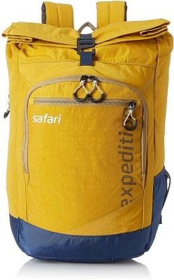 Safari 37.8 Ltrs Yellow Casual Backpack (Expedition HY YEL)