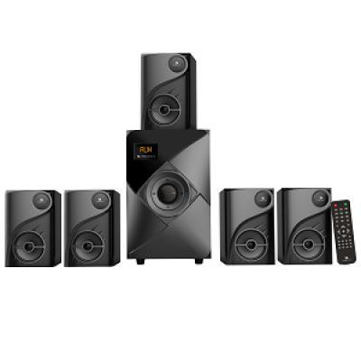 Zebronics ZEB-SW6760RUCF 5.1 Multimedia Speaker (Black)