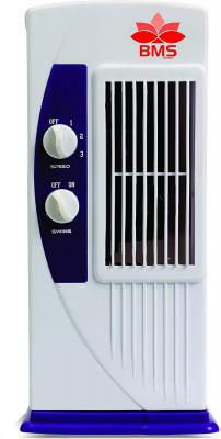 BMS Lifestyle TF-104 Portable Mini Tower Fan with 90 Degree Rotating & Revolving Base 2 Blade Tower Fan