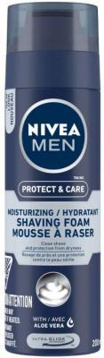 NIVEA MEN Shaving, Protect & Care Shaving Foam, 200ml