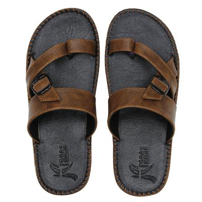 Kraasa Mens Synthetic Outdoor Thong Sandals