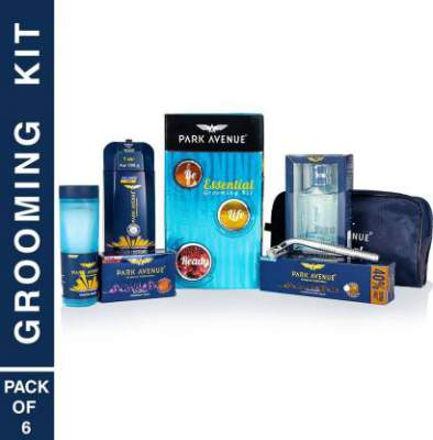 Park Avenue Essential Grooming Kit (Combo Of 7)