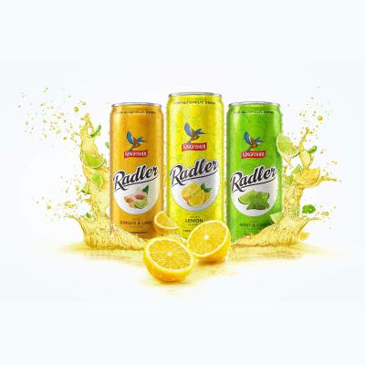 KingFisher Radler Celebration Gift Pack with All Flavours (Pack of 5)