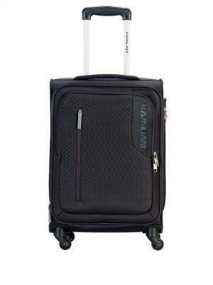 KAMILIANT by American Tourister Kojo Black Cabin Trolley Bag