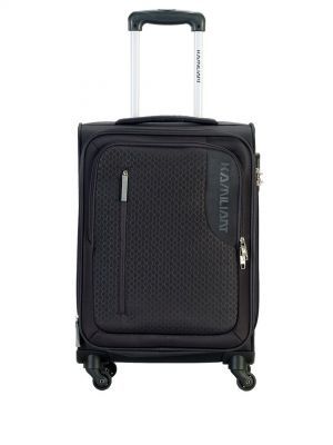 KAMILIANT by American Tourister Kojo Black Cabin Trolley Bag