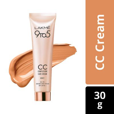 Lakme 9 to 5 Complexion Care CC Cream, Honey, 30g