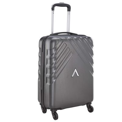 Aristocrat Polycarbonate 55 cms Grey Hardsided Cabin Luggage (Sienna)