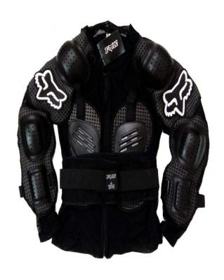 Fox Riding Gear Body Armor with Stretchable Fabric (L)