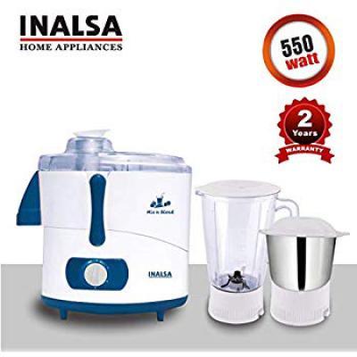 INALSA Juicer Mixer Grinder MIX N BLEND