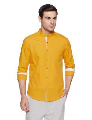 Diverse Mens Solid Slim Fit Casual Shirt