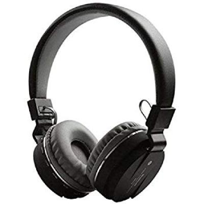 SH-12 wireless Bluetooth Headphone With FM and SD Card